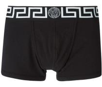 """Shorts mit """"Greca""""-Schlüsselmotiv"""