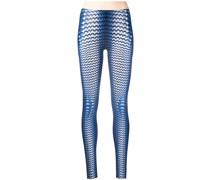 full moon-print leggings
