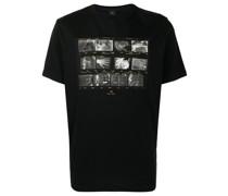 T-Shirt mit Röntgen-Print