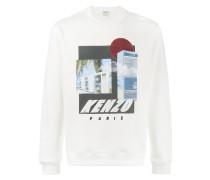 Tropical Ice graphic sweatshirt