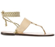rope T-bar Bilbao sandals