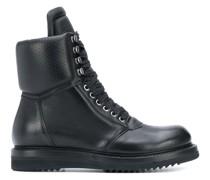 Perforierte Military-Stiefel