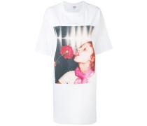 'Girl with Rose' T-Shirtkleid - women