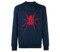 spider print sweatshirt