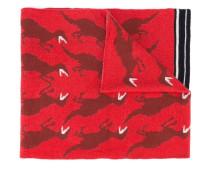 Schal mit Dinosaurier-Prints