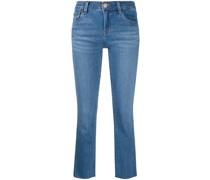 Halbhohe 'Alana' Cropped-Jeans