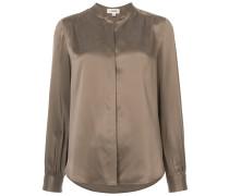 blouse with mandarin collar
