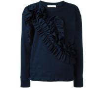 Sweatshirt mit Rüschen