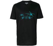 T-Shirt mit Spinne-Print