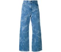 Ausgestelltes Cropped-Jeans