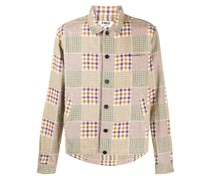 multi-check shirt