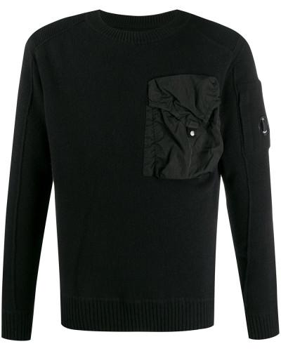 Pullover mit Oversized-Tasche