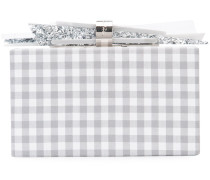 Box-Clutch mit Vichy-Karomuster