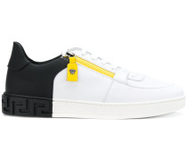 side zip Medusa sneakers