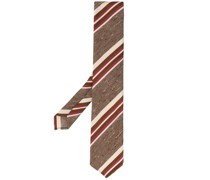 Krawatte mit diagonalen Streifen