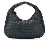 intrecciato weave shoulder bag