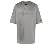 Oversized-T-Shirt mit Stickerei