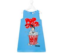 Kleid mit Popcorn-Print