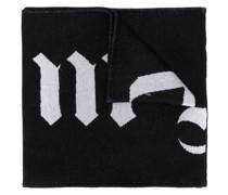 Wendbarer Schal mit Totenköpfen