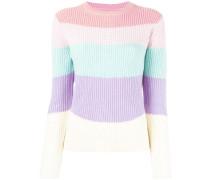 Gestreifter Pullover - women - Kaschmir/Wolle
