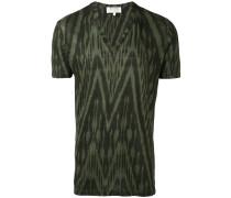 T-Shirt mit Zickzackmuster