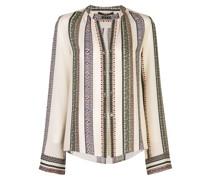 'Kara' Bluse mit Streifen