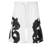 Bermuda-Shorts mit Print