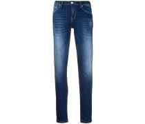 Jeans mit Logo-Patch