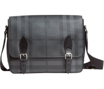 medium London Check messenger bag