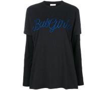 Bad Girl layered sleeves T-shirt