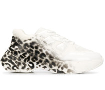 'Rubino' Sneakers mit Leopardenmuster