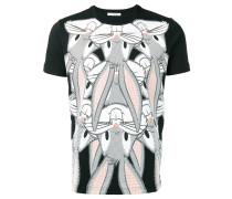 T-Shirt mit Hasen-Print