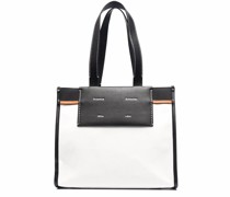 Large Morris Coated Canvas Tote
