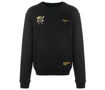 Sweatshirt mit Pfeil-Print