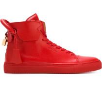 High-Top-Sneakers mit Vorhangschloss