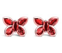 18kt Rotgoldohrstecker Butterfly