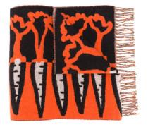 Schal mit Karotten