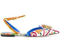 Bellucci Mejolica print ballerinas