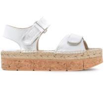 - Sandalen im Metallic-Look - women