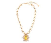 'Canary' Halskette mit Swarovski-Kristallen