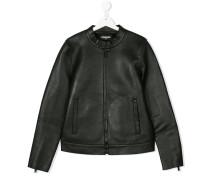 Teen band collar jacket