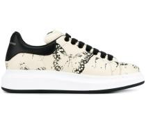 Sneakers mit Motten-Print