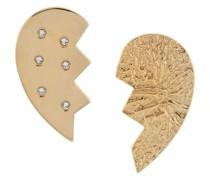 Ohrringe mit Herzform