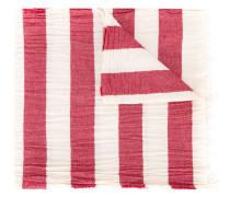 Schal mit Querstreifen - men - Baumwolle