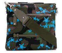 Garavani Camouflage Zandra Stars crossbody bag