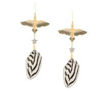 Ohrringe mit Vogelanhänger