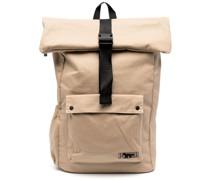 x Maison Kitsune foldover backpack