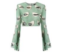 - printed blouse - women - Seide/Viskose - P