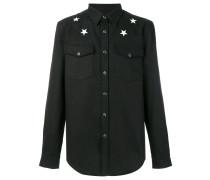 star patch shirt