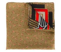 Schal mit Blumenmotiv